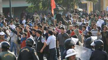 'Marcha contra TV basura' comienza hoy a las 5 p.m. [MAPA]