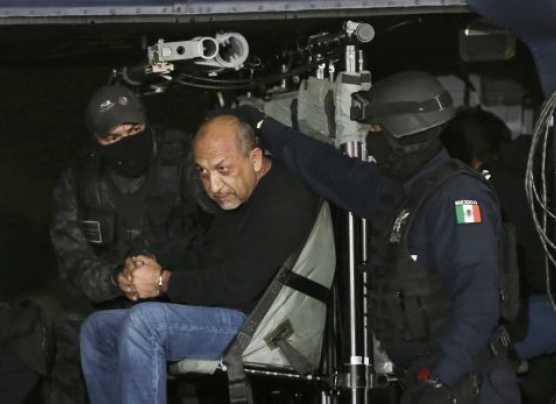 México: así trasladaron a la cárcel al narco 'La Tuta' [VIDEO]