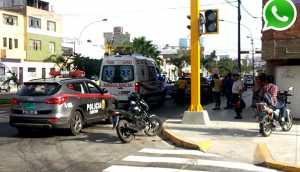 Lince: Denuncian accidentes diarios por semáforos inoperativos