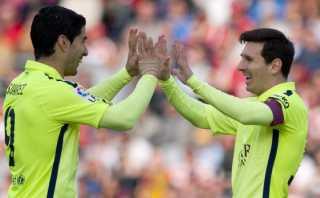 La gentileza de Luis Suárez para que Lionel Messi anote (VIDEO)