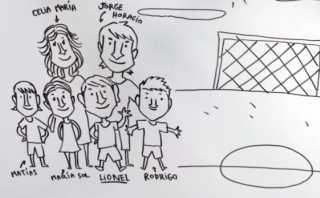 YouTube: clip narra la historia Lionel Messi con dibujos