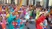 Municipalidad de Lima organizó festival por final de carnavales
