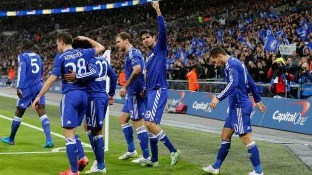 Chelsea se coronó campeón de la Capital One Cup