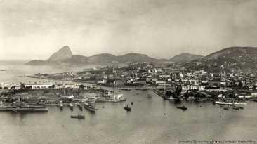Las primeras fotos de Río de Janeiro a 450 años de su fundación