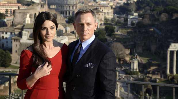 """James Bond se adueña de Roma en """"Spectre"""""""