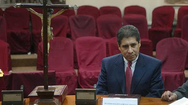 Ex asesor César Almeyda fue interrogado por Caso Ecoteva