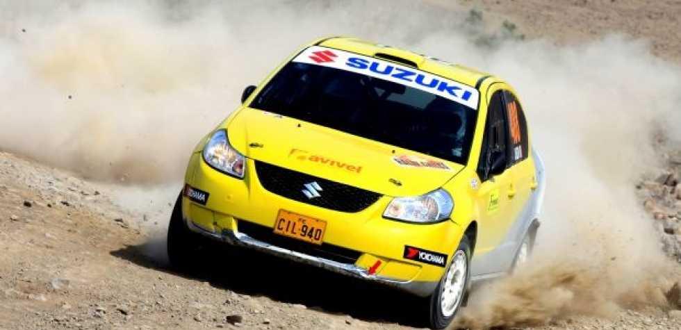 Raúl Velit ganó el Rally Chilca