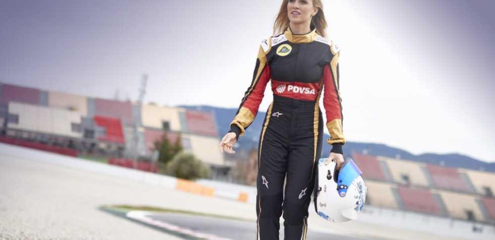 Carmén Jordá, la bella piloto de prueba de Fórmula 1