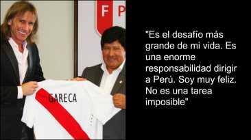 Ricardo Gareca: 10 frases que dejó su presentación en la Videna