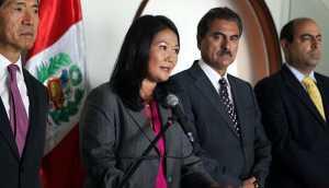 Fujimorismo irá hoy a cita de diálogo con el Gobierno