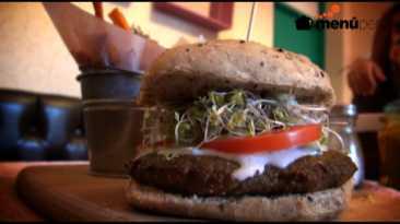 Esta provocativa hamburguesa no tiene un gramo de carne