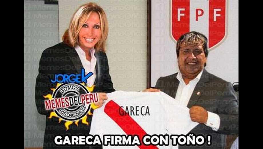 Ricardo Gareca: los memes tras la presentación con Perú