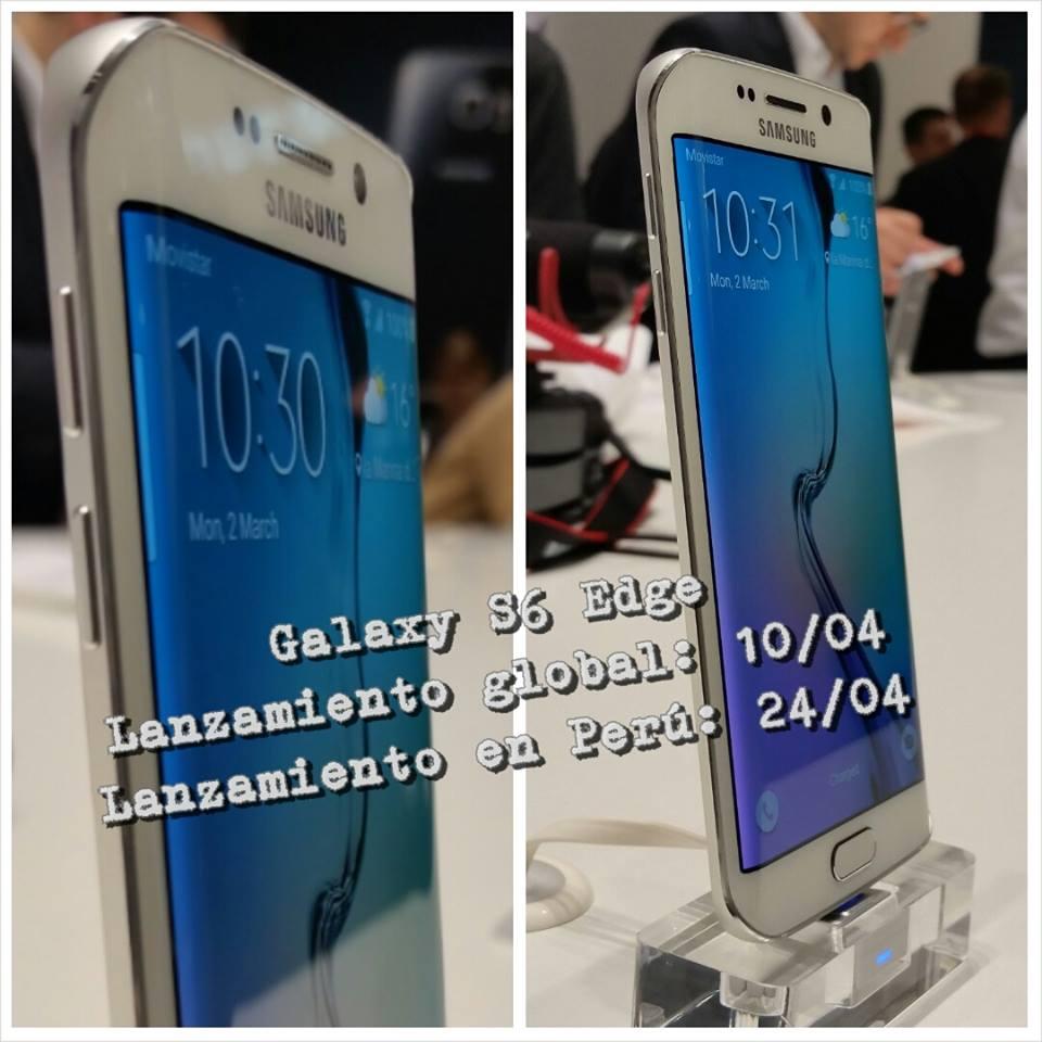 La venta del Galaxy S6 será apenas 14 días de la salida a la venta a nivel global. (Ronny Isla)
