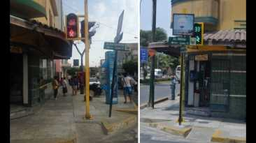 Lince exige el retiro de postes de rampas para discapacitados