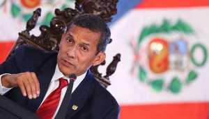 Humala pide a partidos unir criterios sobre reforma electoral