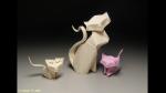 Facebook: increíbles animales hechos con 'origami' - Noticias de dinosaurio