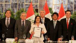 Humala inicia segunda cita del diálogo sin presencia del Apra