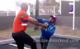 YouTube: singular pelea entre 'David y Goliat' es viral (VIDEO)