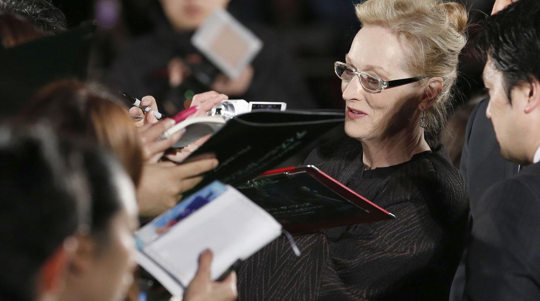 Meryl Streep presentó Into the Woods en Japón (FOTOS)