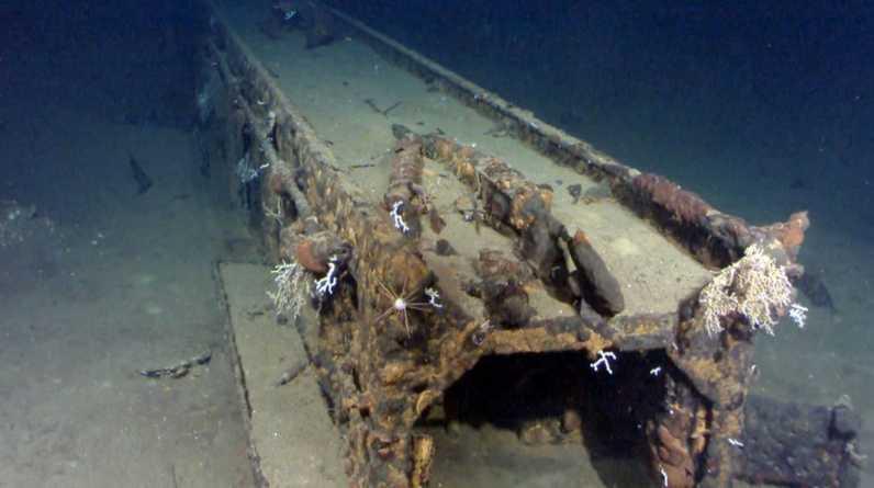 """El """"Musashi"""" fue uno de los acorazados más grandes de la historial naval. (Foto: AP Photo/Paul Allen)"""