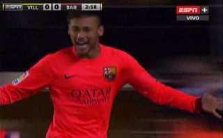 Barcelona: genial pase de Lionel Messi y gol de Neymar (VIDEO)