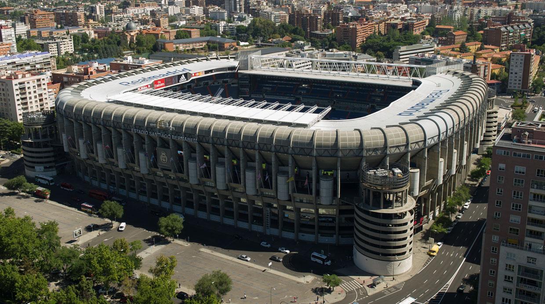 Real madrid conoce el sorprendente estadio santiago for Estadio bernabeu puerta 0