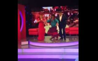 Alan García bailó con Paisana Jacinta en set de Magaly Medina