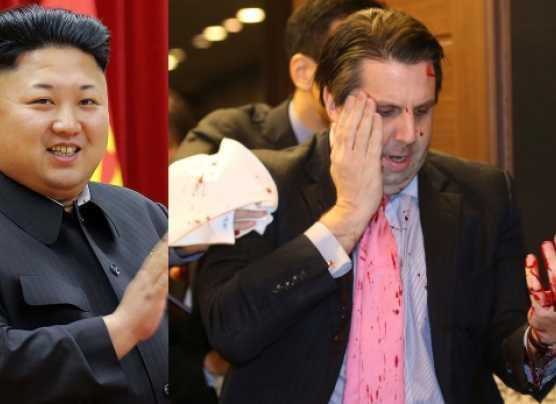 ¿Kim Jong-un ordenó la agresión contra el embajador de EE.UU.?