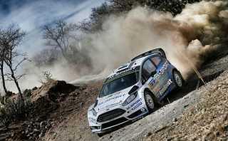 WRC: Ott Tanak cayó a un lago en el Rally México