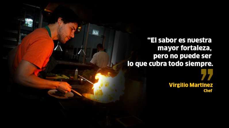 Frases de Virgilio Martínez. (Fotos y diseño: El Comercio)