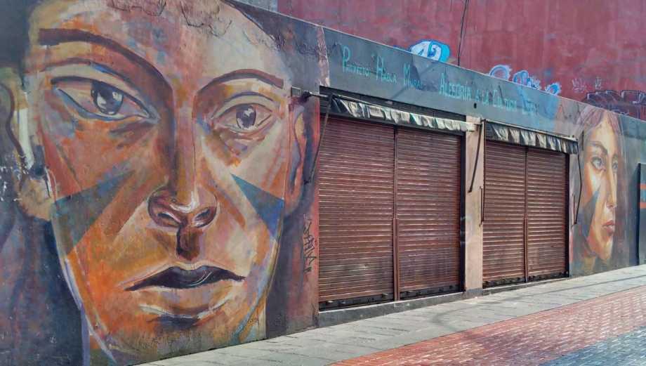 Los murales que sobreviven en las calles del Cercado de Lima