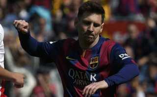 Barcelona goleó al Rayo con triplete de Messi y es nuevo líder