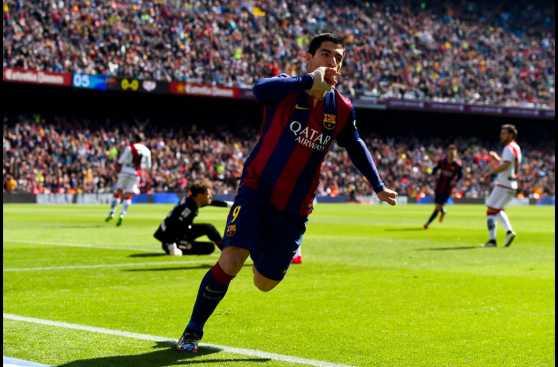 Barcelona y la goleada al Rayo Vallecano a ras de campo (FOTOS)