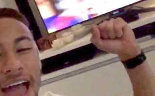 Instagram: Neymar festejó así el gol de Suárez para Barcelona