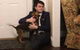 YouTube: emotiva reacción de perro al ver a su amo tras 2 años
