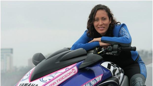 Paloma Noceda es campeona mundial de motonáutica. (Foto: Facebook)
