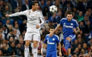 Cristiano Ronaldo y sus dos golazos de cabeza al Schalke
