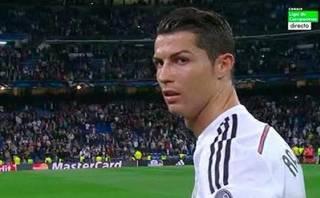 Cristiano Ronaldo y su molestia tras caer en Champions League