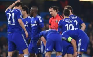 """Ibrahimovic critica a jugadores de Chelsea: """"Parecían 11 bebés"""""""