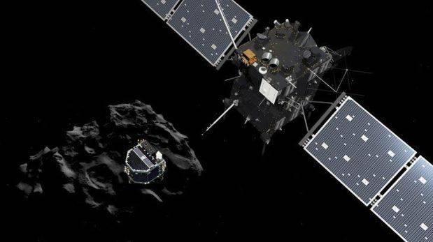 Rosetta busca alguna señal de vida del módulo Philae