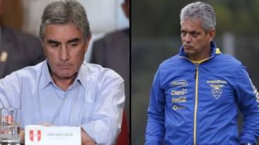 """Oblitas: """"Para mí, lo de Reinaldo Rueda está descartado"""""""