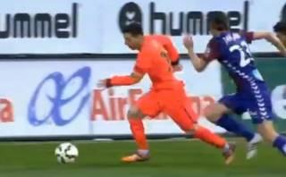 Lionel Messi y su sensacional jugada frente al Eibar (VIDEO)