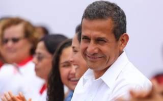 Ollanta Humala: aprobación del mandatario ascendió al 25%