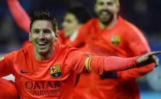 Lionel Messi cambió su cara y la del Barcelona en el 2015