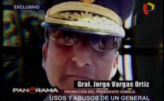 Compañero de Humala usó irregularmente autos del Ejército