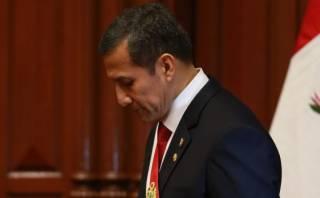 Aprobación de Humala cayó 30 puntos desde inicio de su gestión