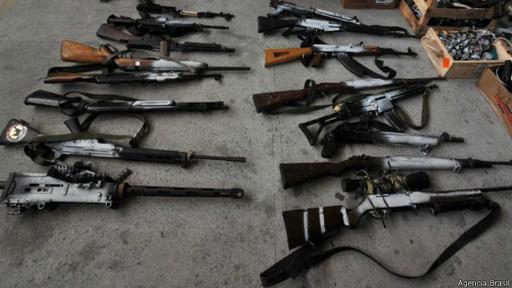 La policía de Río aumentó las incautaciones de fusiles este año, pero eso parece lejos de detener la violencia.