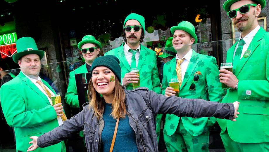 La fiesta de San Patricio en Irlanda, EE.UU. e Inglaterra