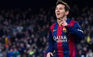 Lionel Messi lidera tabla de goleadores de las ligas europeas