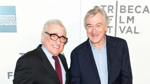 Robert De Niro yMartín Scorsese cerrando el Tribeca 2013 con